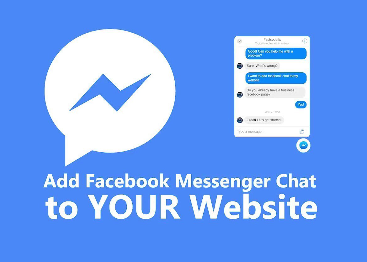 Add Facebook Customer Chat to Your Website