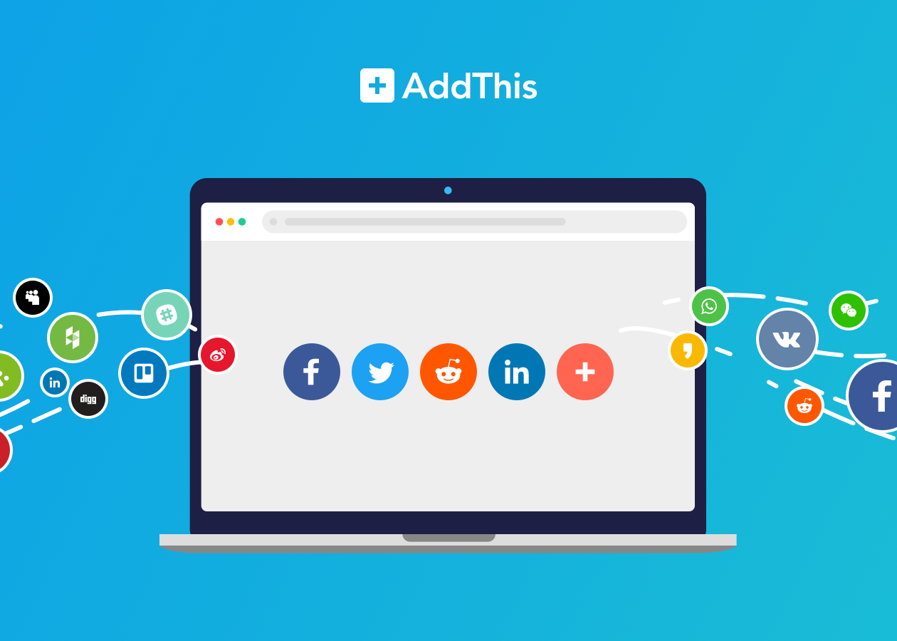How to use AddThis Share button in your website